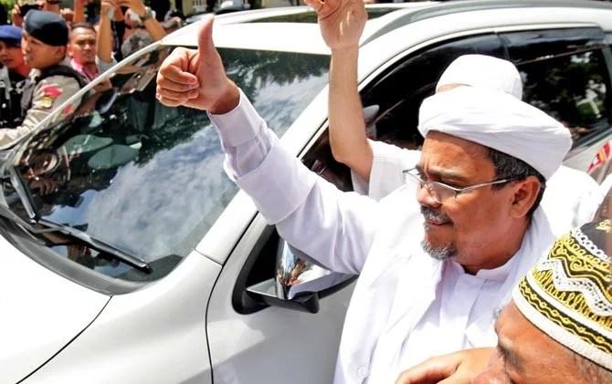 Berikut Kasus Hukum Yang Menimpa Habib Rizieq
