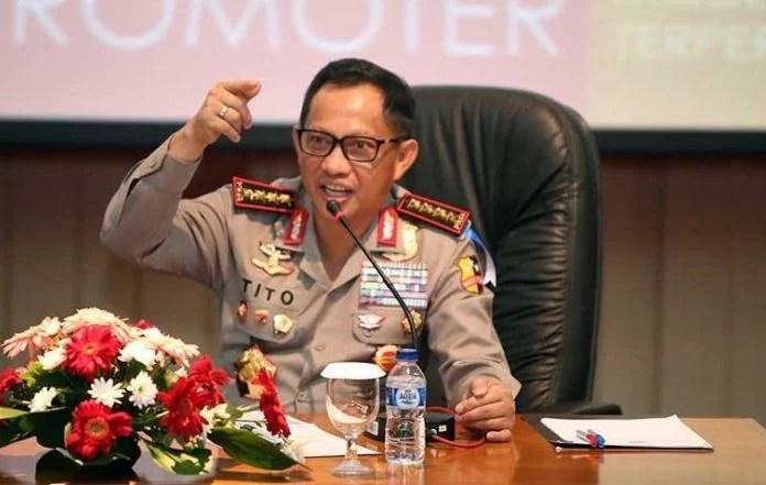 Kapolri : Hentikan Masalah SARA, Kita Bangsa yang Satu, Bangsa Indonesia
