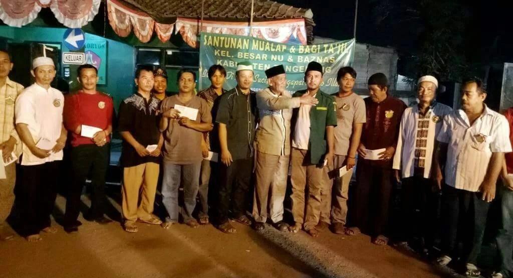 Berbagi, GP Ansor Dan Baznas Tangerang Santuni 102 Mualaf