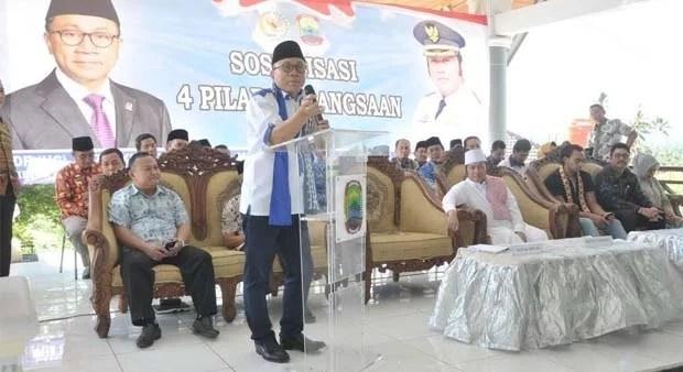 Di Safari Ramadhan, Ketua MPR Imbau Pentingnya Pendidikan sebagai Kunci Utama Kemajuan
