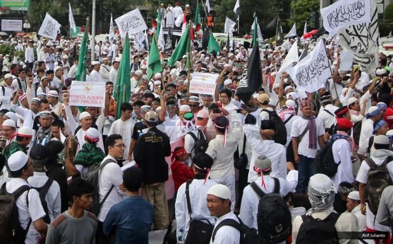 Larang Atribut HTI di Aksi 287, Polisi Siapkan 9.000 Personel Lebih