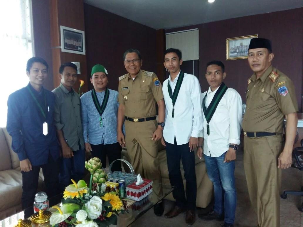 Silaturahmi Dengan Bupati, HMI Tegaskan Kesiapan Memajukan Kabupaten Kolaka
