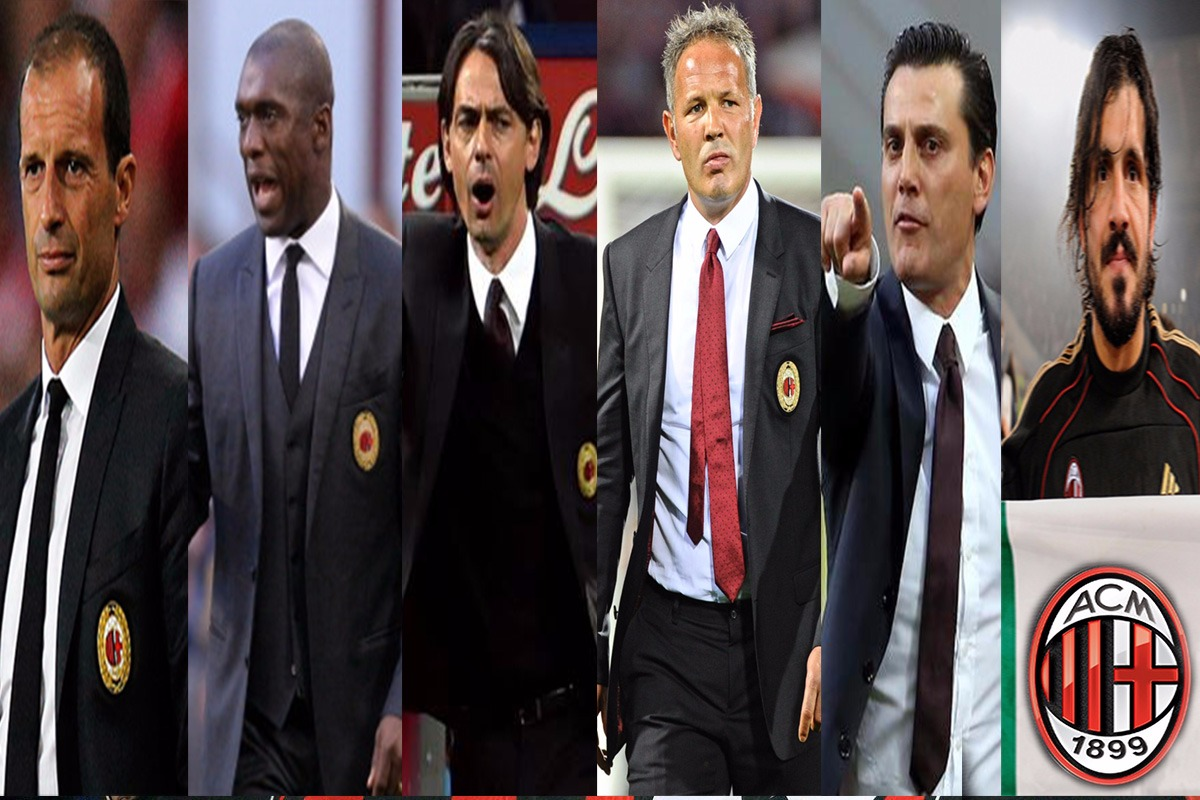 Kurang Dari Empat Tahun, Rossoneri Sudah Berganti Enam Pelatih