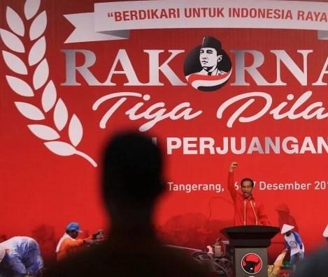 Jokowi Ingatkan Pesan Soekarno tentang Semangat Berdikari di Rakornas Tiga Pilar PDI-P