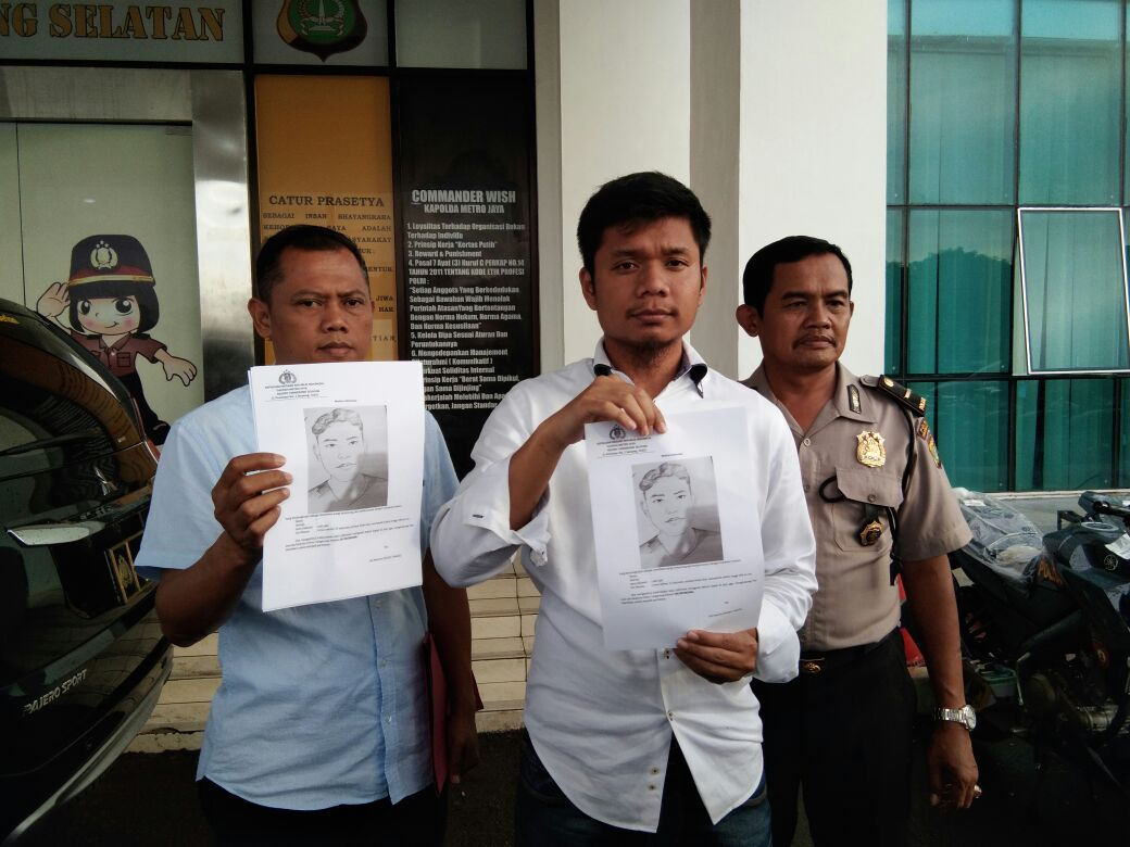 Polres Tangsel Mulai Sebar Skesta Wajah Dugaan Pelaku Penculikan Remaja Ciputat