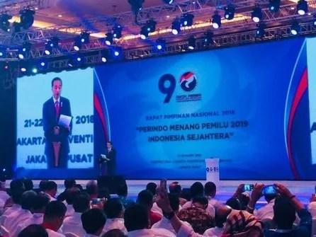 Cerita Presiden Jokowi Hafal Mars Partai Perindo dari Tayangan Iklan