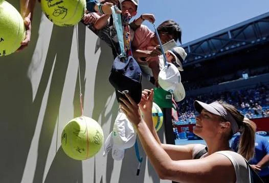 Petenis Cantik Maria Sharapova Pamer Video Latihan Bareng Rafael Nadal