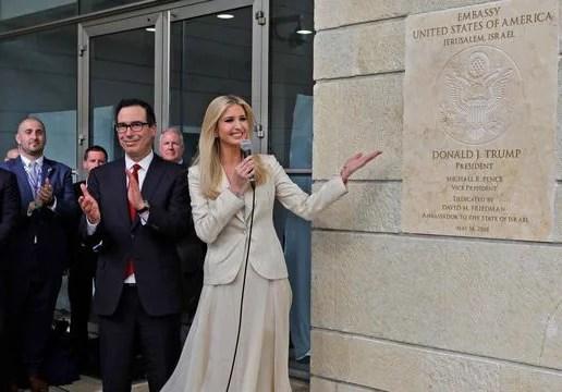 Kedutaan Besar AS di Yerusalem Resmi Dibuka, 32 Negara Hadir