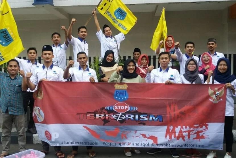 Tolak Radikalisme dan Terorisme, PB PMII Gelar Aksi di Tiga Lokasi di Jakarta