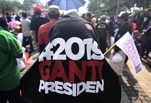 Emak Militan Jokowi Polisikan 3 Orang Penggagas Gerakan #2019GantiPresiden