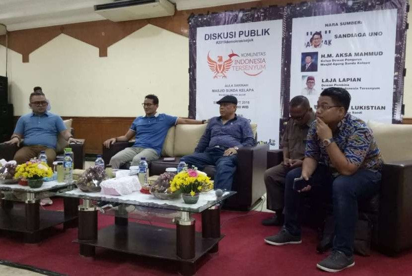 Sandiaga Dorong Demokrasi yang Sejuk tanpa Saling Menghujat di Pilpres