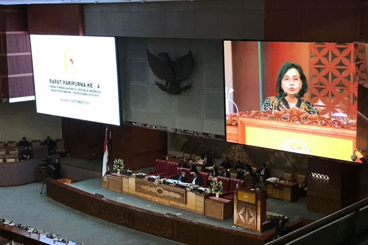Rupiah Melemah, Kubu Opisisi di DPR Interupsi ke Sri Mulyani