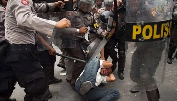 Polisi akan Tindak Oknum Aparat yang Represif kepada Mahasiswa