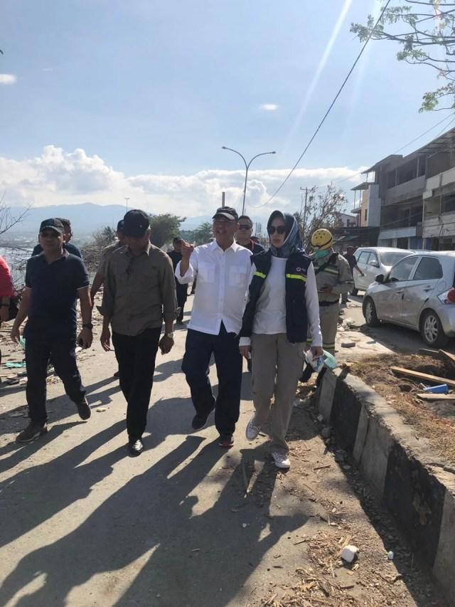Airin Kirim Relawan BPBD dan PMI Tangsel Bantu Korban Bencana Palu-Donggala