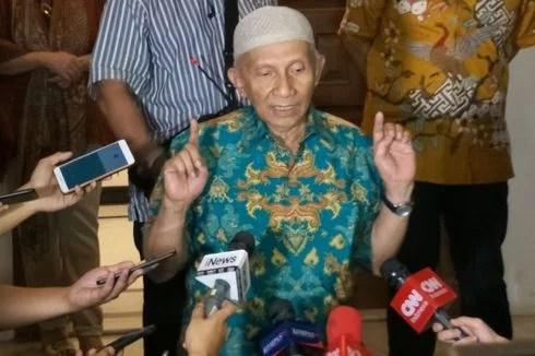Dipanggil Polisi, Amien Rais Pertanyakan Kasus-Kasus Korupsi Yang Mangkrak di KPK