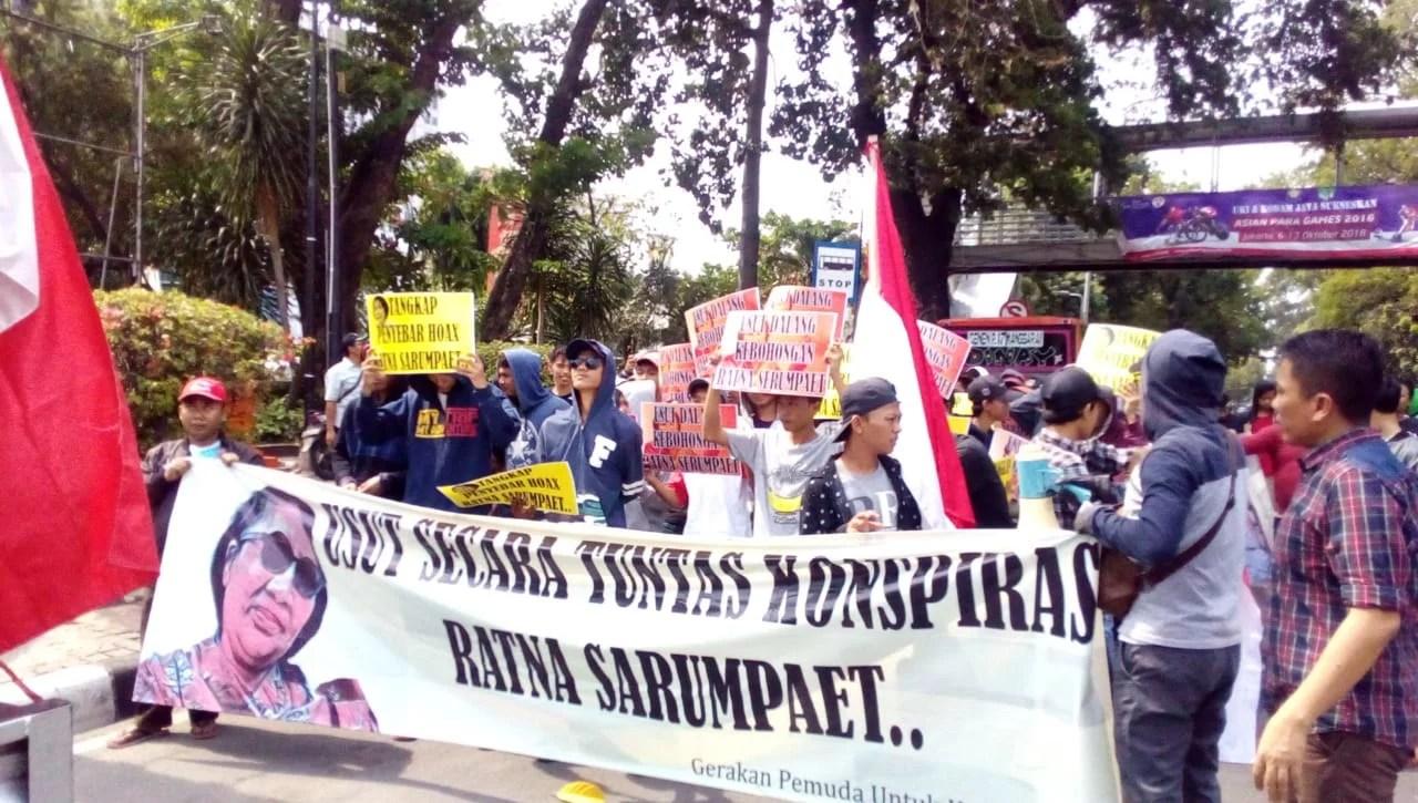 GEPUK Minta Polisi Tangkap Dalang dan Penyebar Berita Hoax Ratna Sarumpaet
