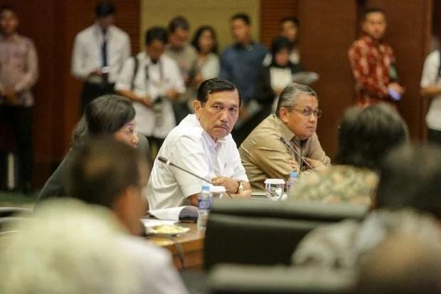 Luhut: Pemerintah Berhemat, Baru Rp 566 Miliar dari Rp 855,6 Miliar Dipakai untuk KTT IMF