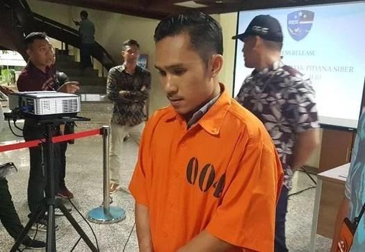 Pengunggah Konten Hoax Jokowi PKI di Instagram Ditangkap Polisi