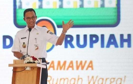 Inilah Deretan Janji-Janji Yang Sudah Dilunasi Anies Baswedan pada Warga DKI Jakarta