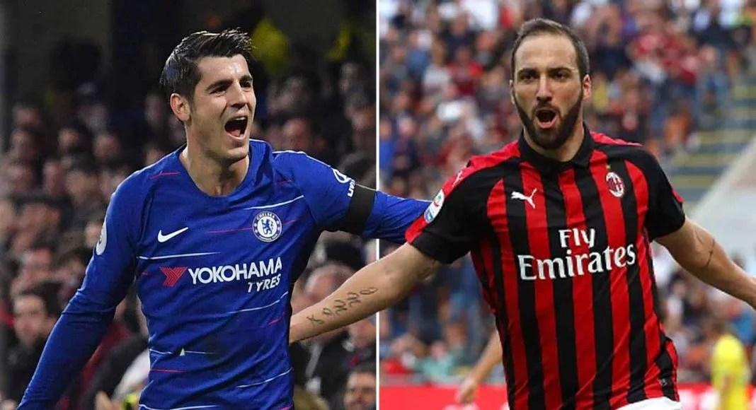 AC Milan dan Chelsea Sepakat Bertukar Striker 'Ompong'