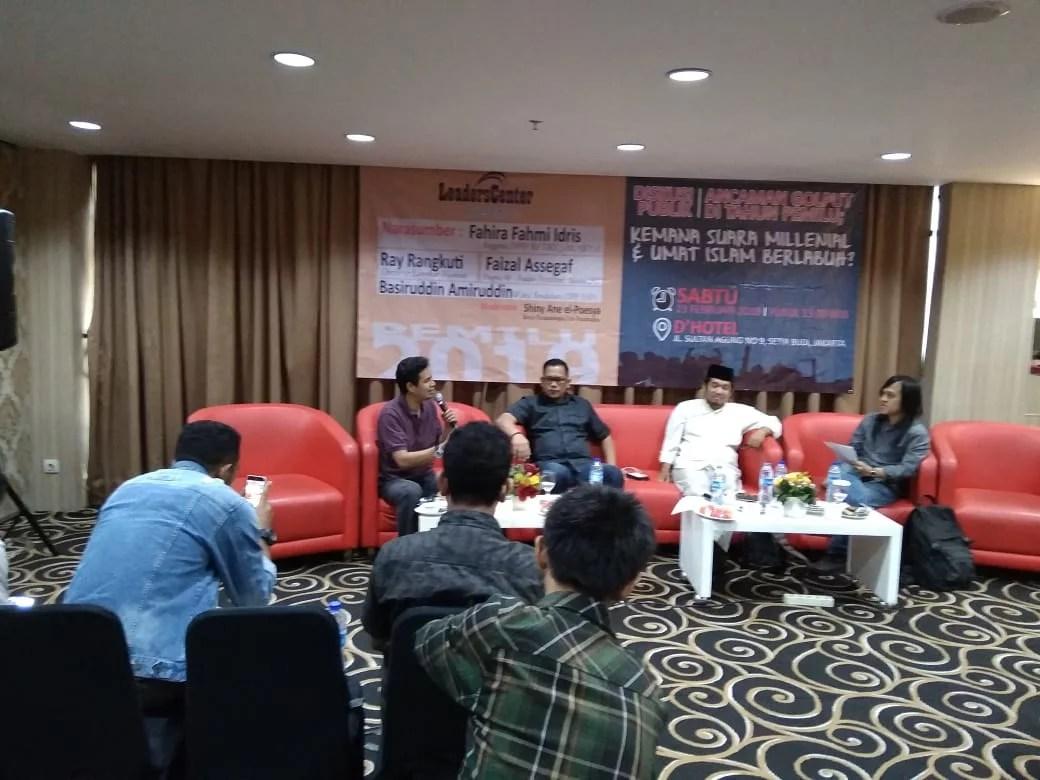 Millenial Cenderung Dekat Dengan Karakter Jokowi
