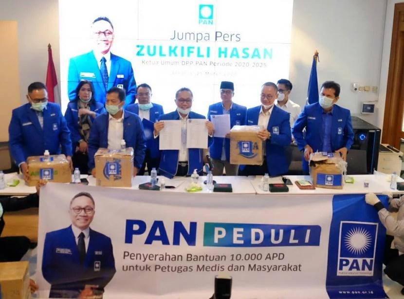 Fraksi PAN DPR Potong 50% Gaji Anggotanya Bantu Penanganan Wabah Corona