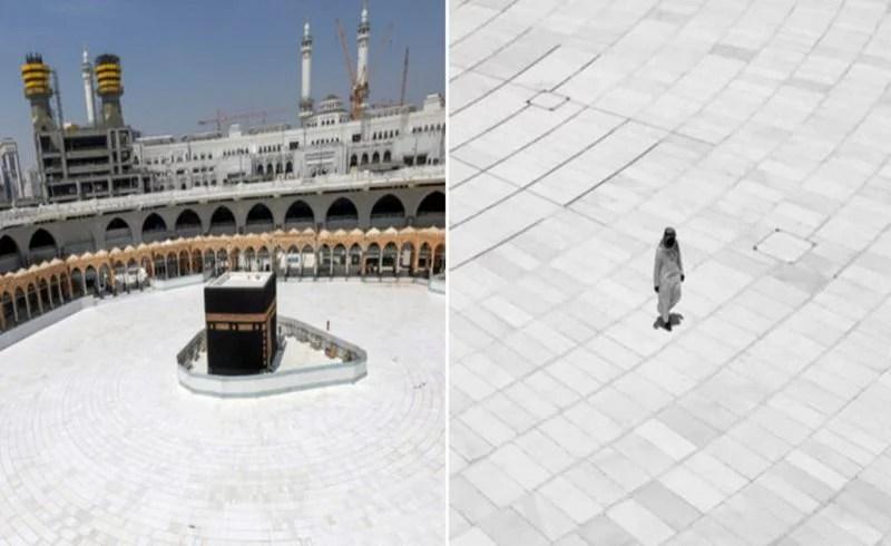 Seorang Pria Tawaf Sendirian di Ka'bah, Mimpi 20 Tahun yang Jadi Kenyataan