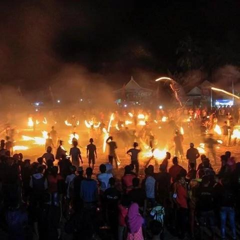 Pongka; Situs Perkampungan Kuno dan Tradisi Perang Api di Kabupaten Bone
