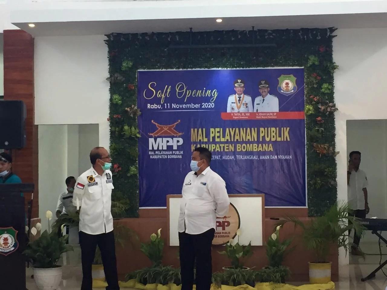 Soft Opening; Bupati: MPP Bombana Untuk Kemudahan Pelayanan Kepada Masyarakat