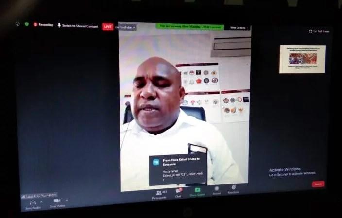 Laus D.C. Rumayom: Membangun Papua Susah Gampang, Kepala Daerahnya Harus Benar