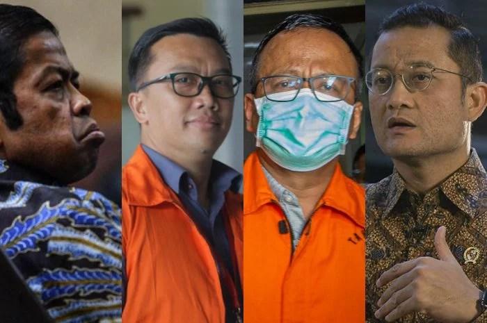 Daftar Menteri Jokowi Yang Ditangkap Karena Korupsi