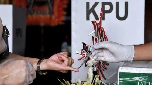 KPU:  Angka Sementara Partisipasi Pemilih Pilkada 2020 76,13 Persen