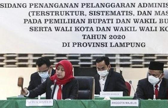 Bawaslu Diskualifikasi Pemenang Pilkada Bandar Lampung