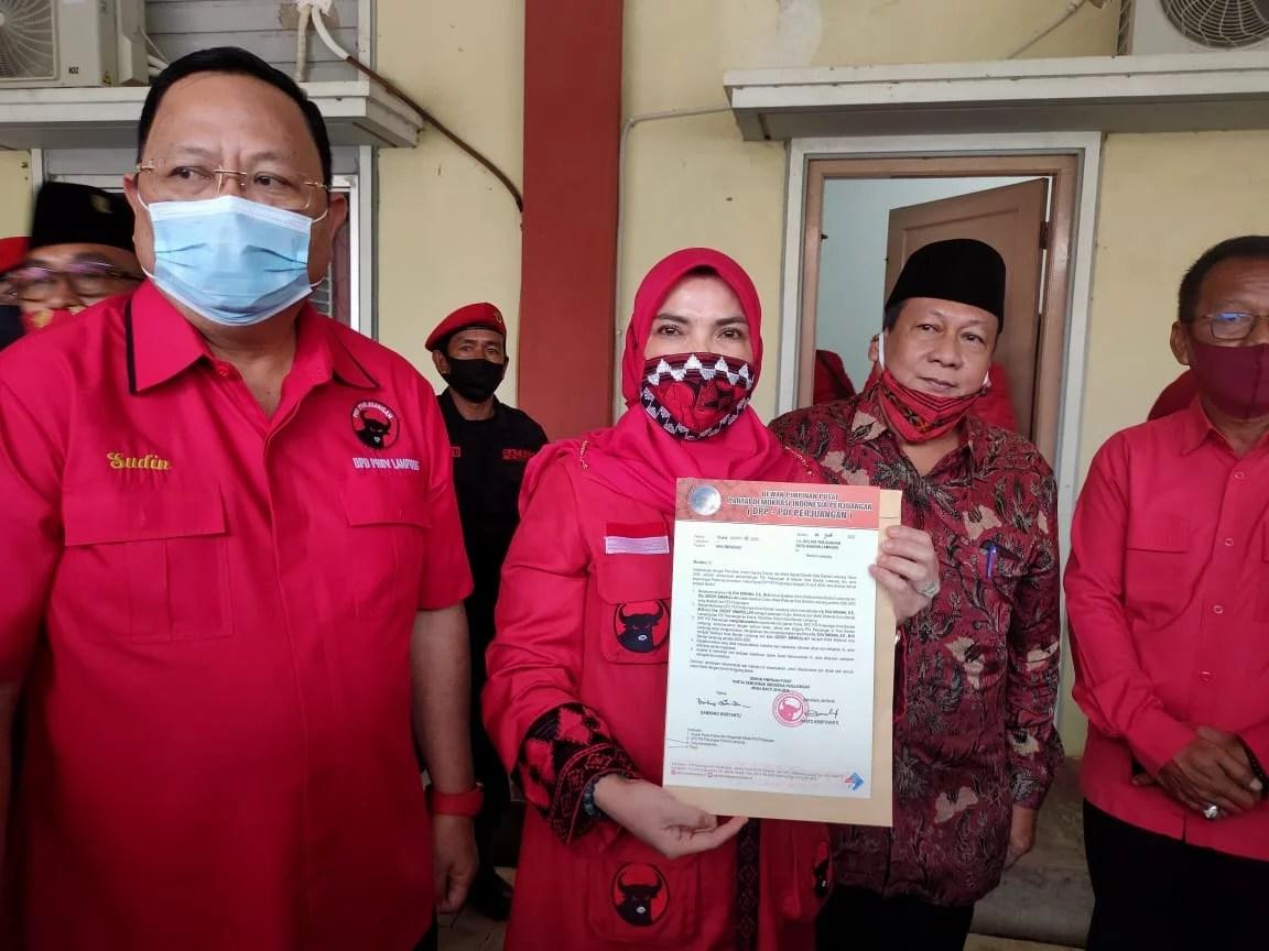 KPU Batalkan Paslon PDIP Pemenang Pilkada Bandar Lampung