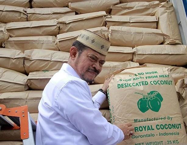 Rusia Jadi Pasar Potensial Bagi Tepung Kelapa Sulawesi Utara