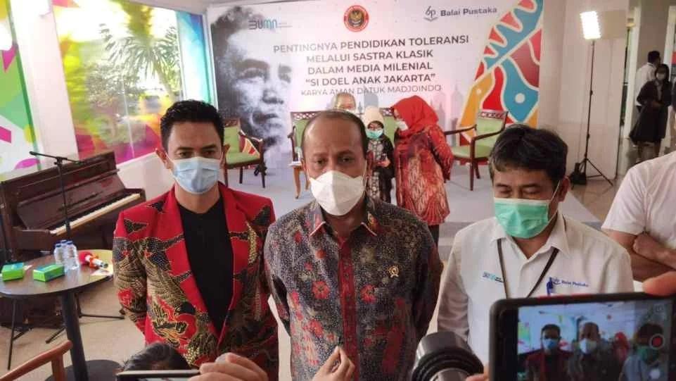 BNPT Angkat Novel 'Si Doel Anak Jakarta' Jadi Webseries Untuk Media Pendidikan Toleransi