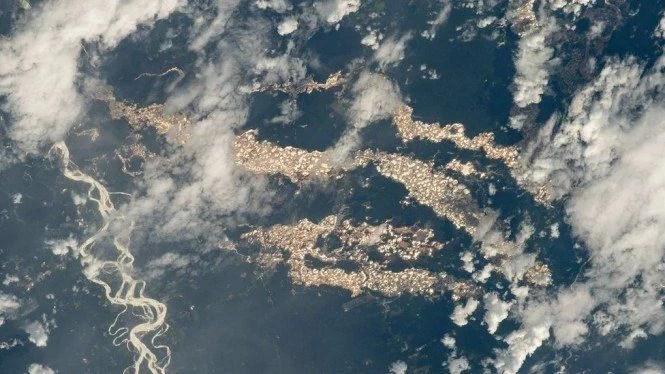 Hasil Jepretan Foto Badan Antariksa AS Ungkap Keberadaan Sungai Emas di Amazon