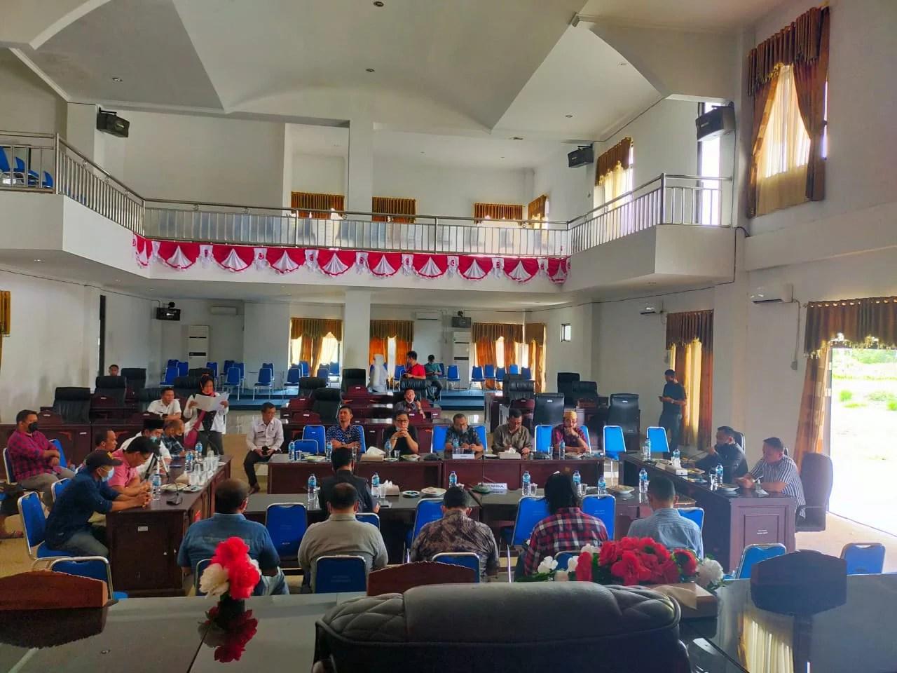 PT. ASA Lakukan RDP Dengan DPRD Terkait Aspirasi dari Aliansi Malintang