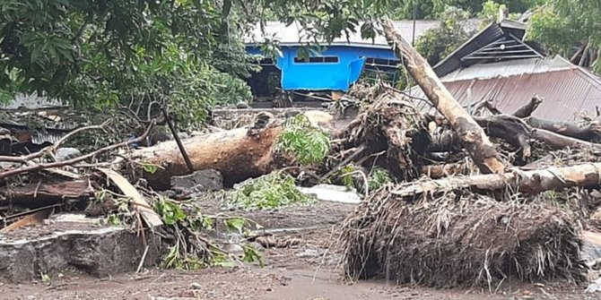 Banjir Bandang di NTT, BNPB: Tak Perlu Status Bencana Nasional