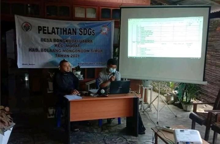 Pemdes Bongkudai Utara Selenggarakan Bimtek Pendataan SDGs