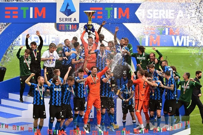 Rayakan Scudetto, Inter Milan Tutup Musim Dengan Pesta Gol