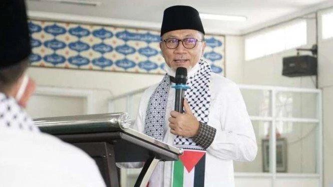 Zulkifli Hasan Minta Anggota DPR dari PAN Galang Dana Buat Palestina