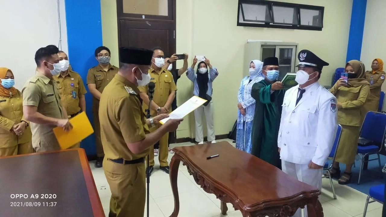 Wabup Boltim Lantik Pj. Sangadi Bongkudai Drs. Asral Mamonto