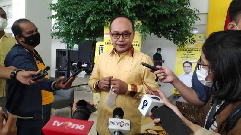 Soal Azis Syamsuddin, Golkar: Hargai Proses Hukum