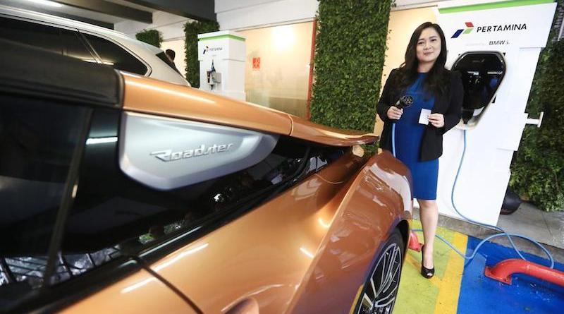 Pertamina Luncurkan Pilot Project Green Energy Station BMW Indonesia Sediakan BMW i Wallbox Plus 22kW