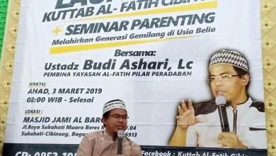 Photo of Ustaz Budi Ashari Jelaskan Tiga Hal Penting dalam Pendidikan Islam