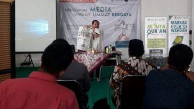 Photo of Kuatkan Dakwah di Era Informasi, Forjim dan Wahdah Islamiyah Sinergi Gelar Pelatihan Jurnalistik