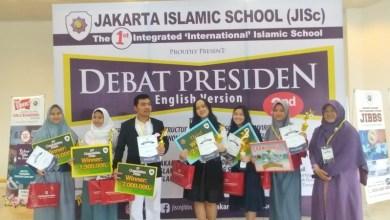 Photo of Diam-diam Ada Debat Presiden di JISc, Gunakan Bahasa Inggris