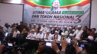 Photo of Ijtima Ulama Desak Bawaslu dan KPU Diskualifikasi Pasangan 01