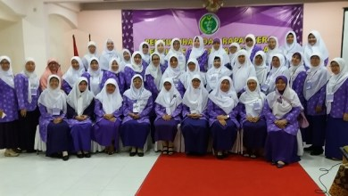Photo of Wanita Islam Gelar Milad ke-58 di Tengah Pandemi